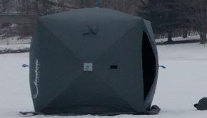 jawbone ice fishing shelter