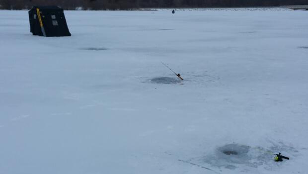 Stay warm ice fishing