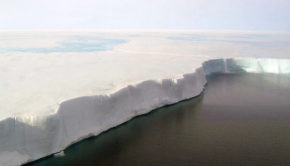 edge of the ice belt